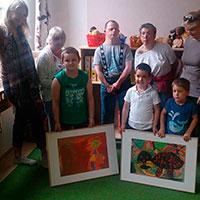 Bildübergabe Kindergarten 2014