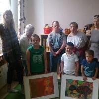 Bildübergabe Kreativkurs Kindergarten 2014